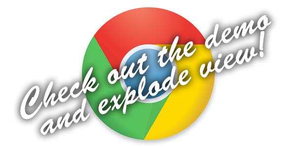 Pure CSS Chrome Logo • Dreamdealer