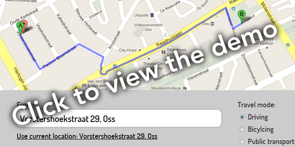 Using Geolocation To Automatically Generate A Route And Directions - Map my route google maps